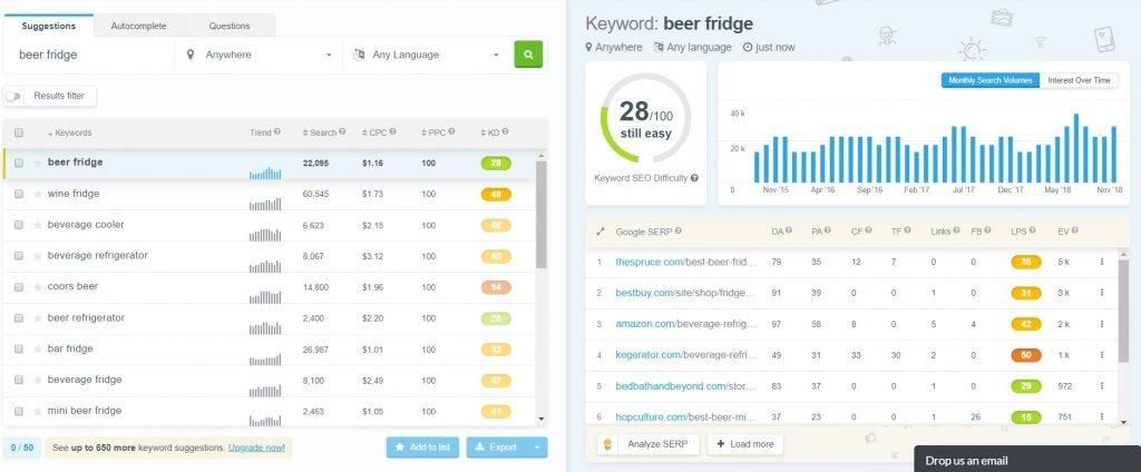 keyword suggestion tool search engine optimization